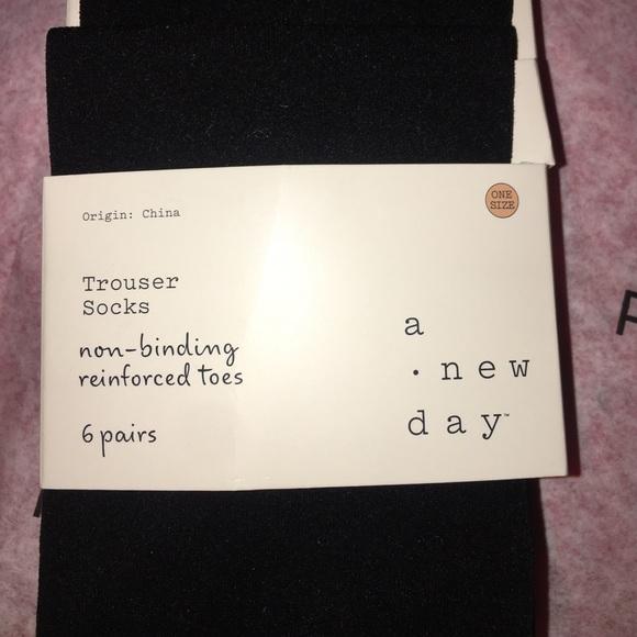 Trouser Socks 6 pair